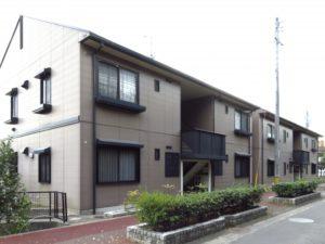 8室のアパート